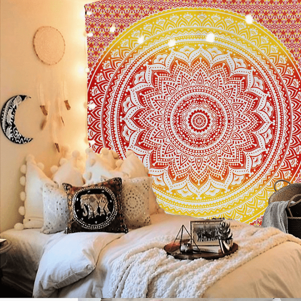 Twilight Mandala Tapestry