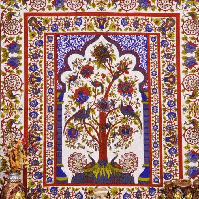 Multi Color Tree Of Life Tapestry