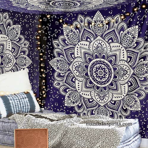 North Star Wall Mandala Tapestry