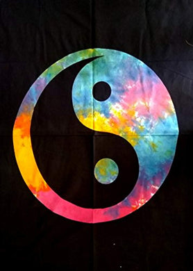 Colourful Yin Yang Décor Tapestry
