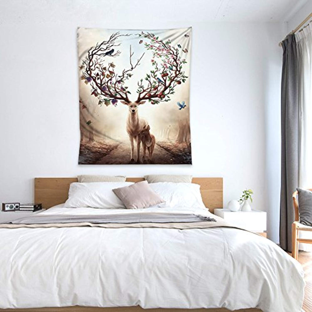 YAMUDA Cotton Tapestry Wall Hanging Tapestries Modern Blanket Decor Art