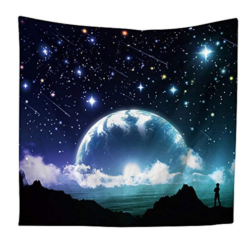 Meteor Shower Décor Tapestry