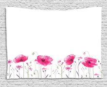 Gorgeous Cherry Flowers Décor Tapestry