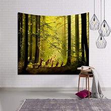 Forest Sunrise Tapestry