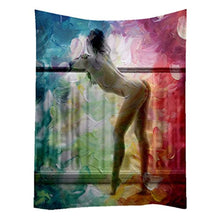 Female Beauty Décor Tapestry