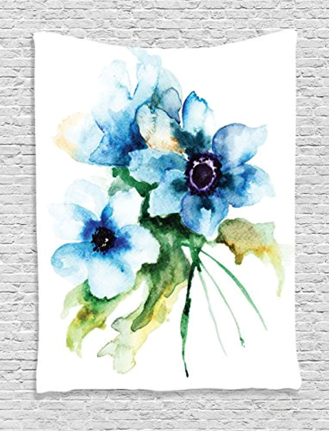 Beautiful Flowers Décor Tapestry