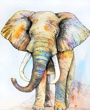 Beautiful And Artistic Elephant Print Tapestry