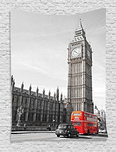 Big Ben Tower Décor Tapestry