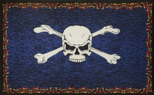 Pirate Skull Décor Tapestry