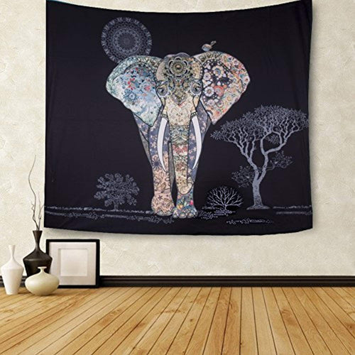 Psychedelic Indian Décor Tapestry