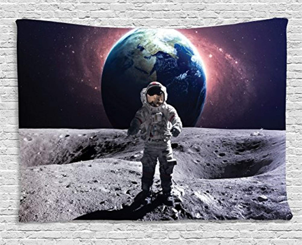 Astronaut Décor Tapestry