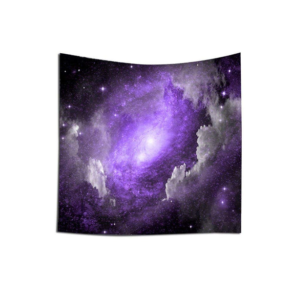 Purple Star Cluster Tapestry