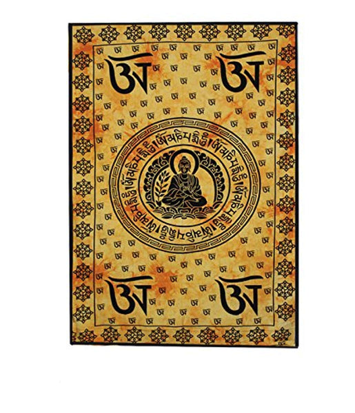 Buddha Meditation Décor Tapestry
