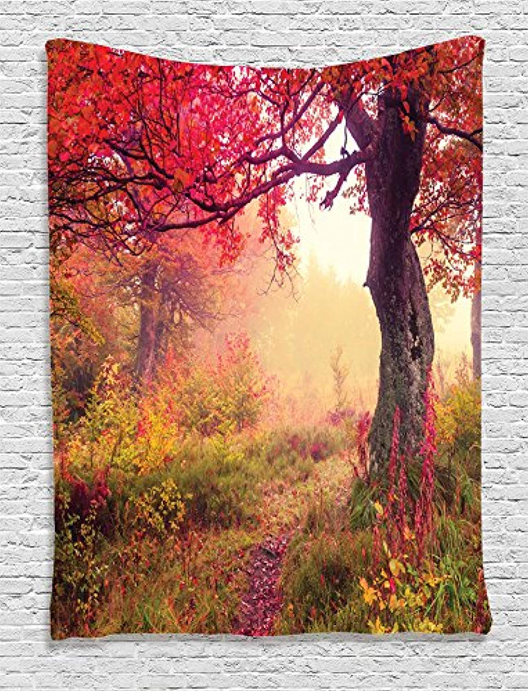 Autumn Trees Décor Tapestry