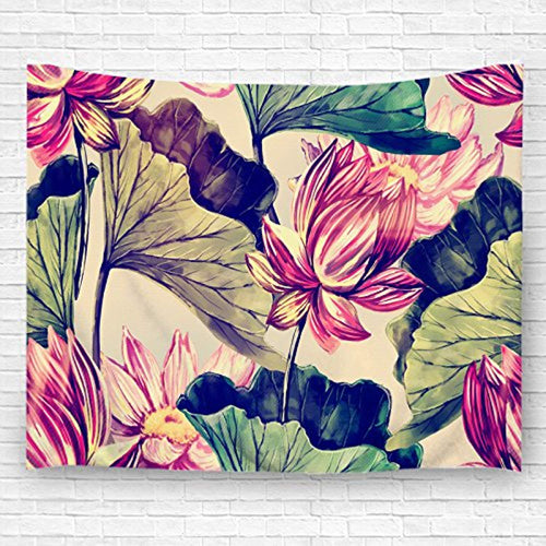 Abstract Art Flower Décor Tapestry