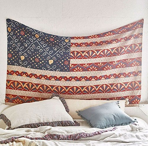 The USA Map Tapestry