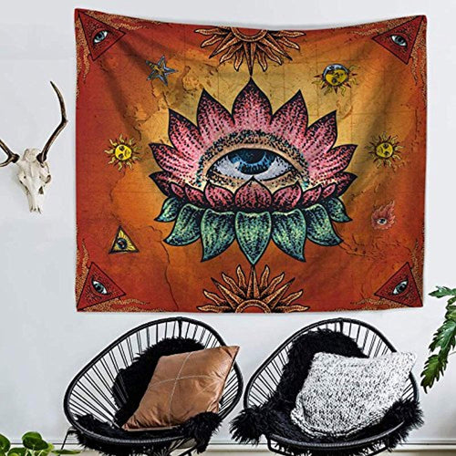 Zen And Meditation Décor Tapestry