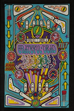 Grateful Dead 3D Pinball Machine Tapestry Tablecloth Wall Art Beach Sheet Huge 60x90 Inches - Amazing 3D Effects