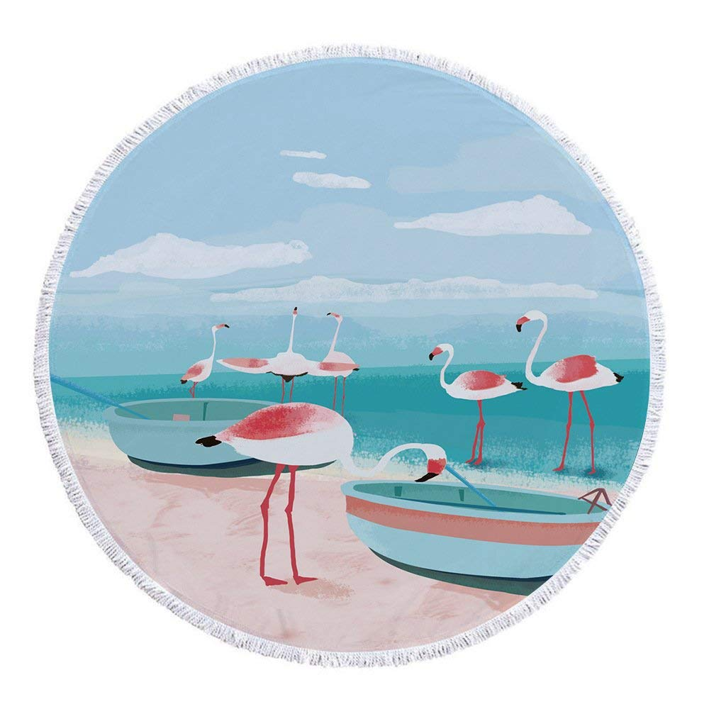 Flamingoes Tropical Décor Tapestry