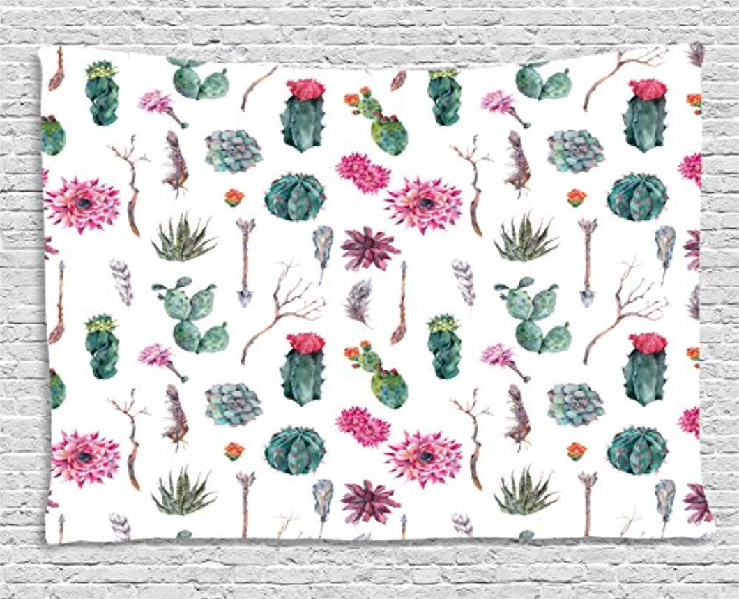 Cactus Décor Tapestry