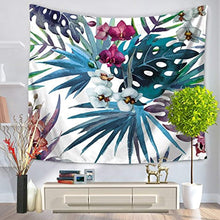 Leaf Print Décor Tapestry