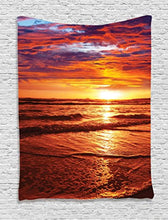 Exotic Island Clear Blue Waters Tapestry