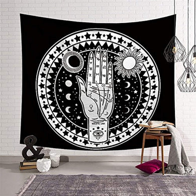 Fortune Telling Hand Décor Tapestry