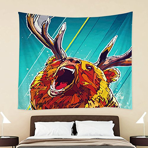 Angry Bear Décor Tapestry