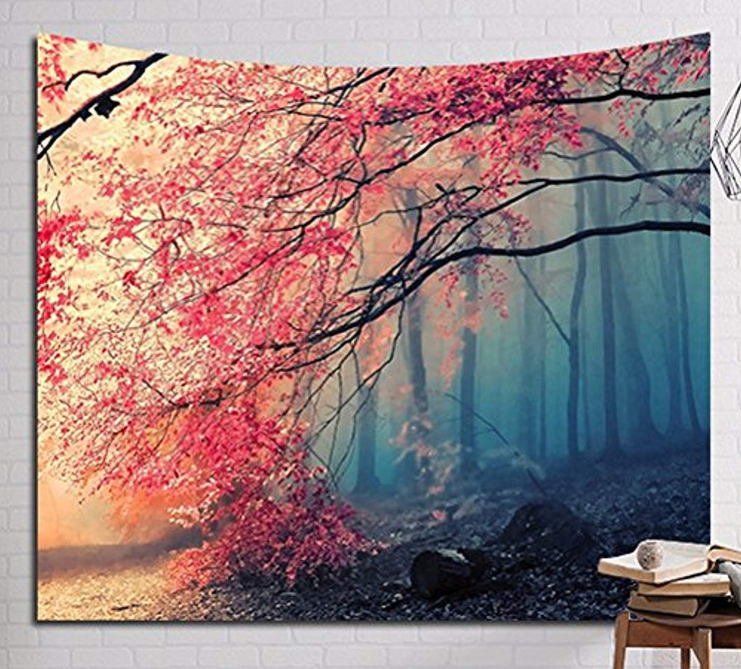 Forest Trees Décor Tapestry