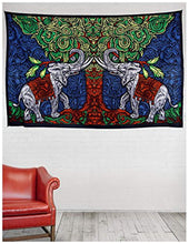 Elephant Under A Tree Décor Tapestry