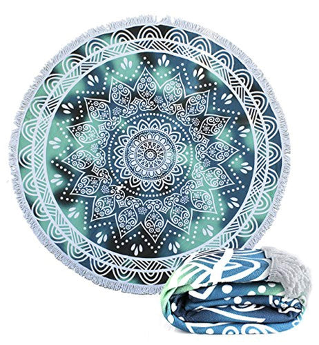 Gorgeous Mandala Towel Or Yoga Mat
