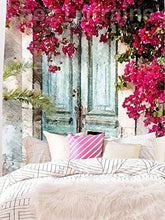 Pretty Floral Print Décor Tapestry