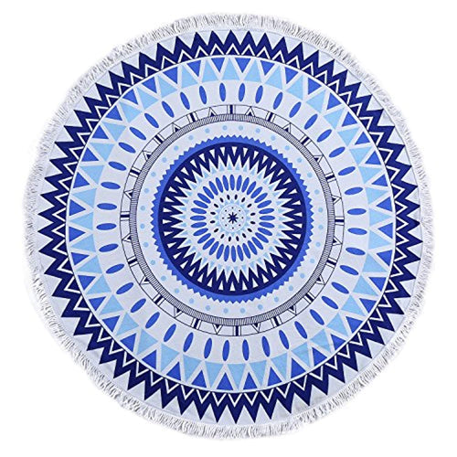 Blue Mandala Décor Tapestry