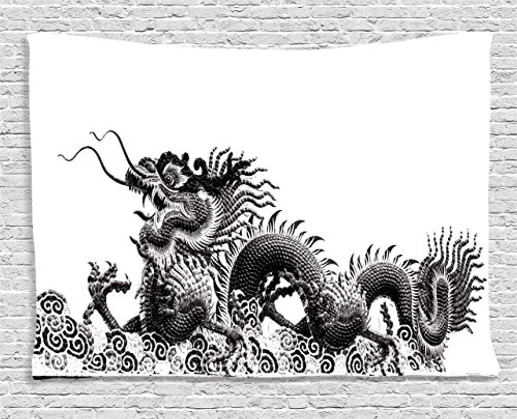 Chinese Dragon Décor Tapestry