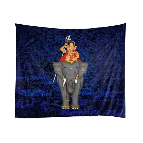 Classical Ganesha riding on elephant