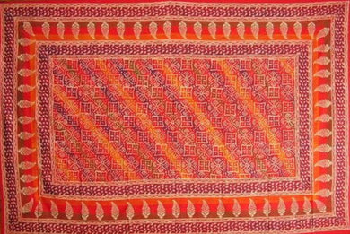 Indian Block Print Tapestry