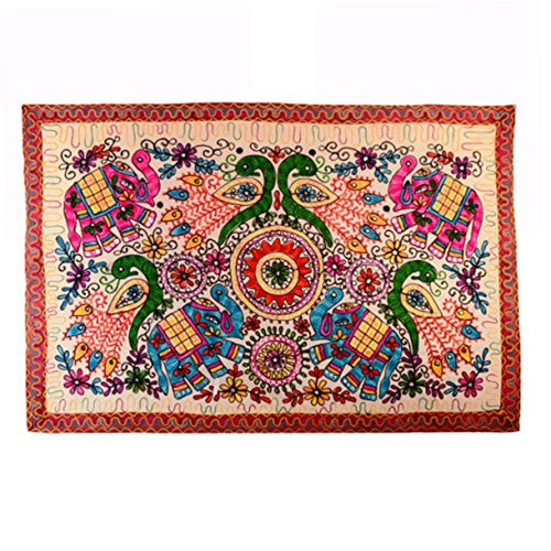 Ethnic Indian Elephant Tapestry