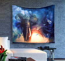 Happy  Elephants Ethnic Print Décor Tapestry