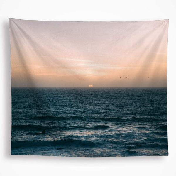 Ocean Beach Décor Tapestry