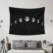 Moon Phases Décor Tapestry