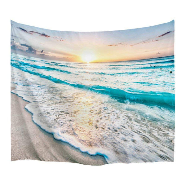 Sunset By The Sea Tapestry