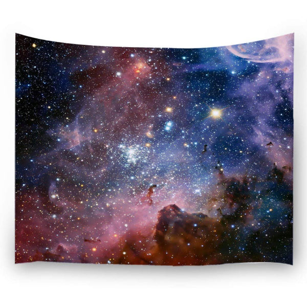 Stars And Celestial Bodies Tapestry