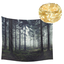 Foggy And Breathtaking Forest Tapestry