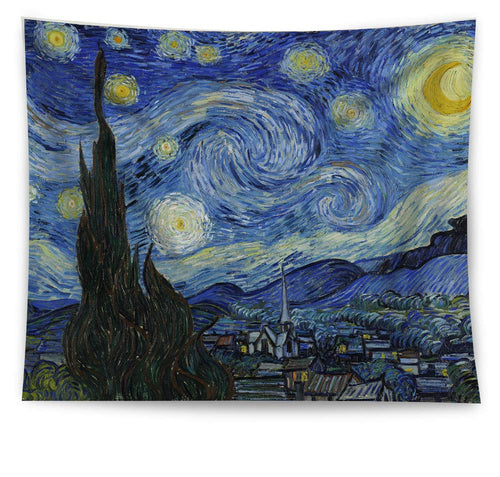 Van Gogh's Starry Night Tapestry