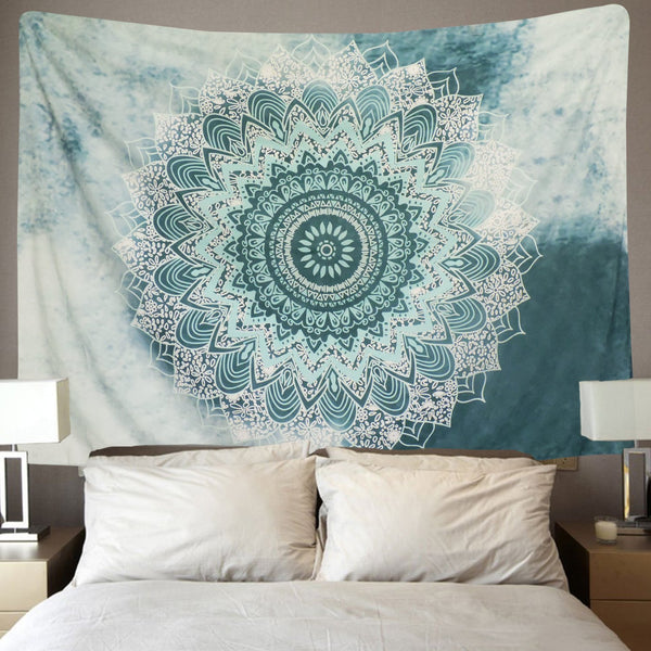 Indian Mandala Décor Tapestry
