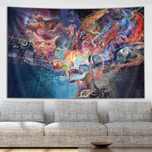 The Futuristic Leap forward Tapestry