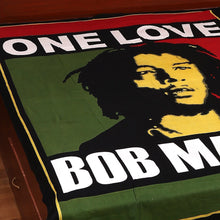 Lifelike Bob Marley Bed Sheet