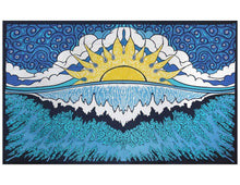 Mountain Sunset Nature Landscape Tapestry