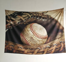 "Baseball Wall decor Tapestry Wall Hangings Home Decor,60""x 80"",Twin Size"