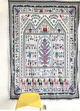 "African Tribal Life Tapestry Headboard Home Decor,60""x 80"",Twin Size"